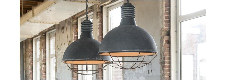 Masser af hotte industrilamper