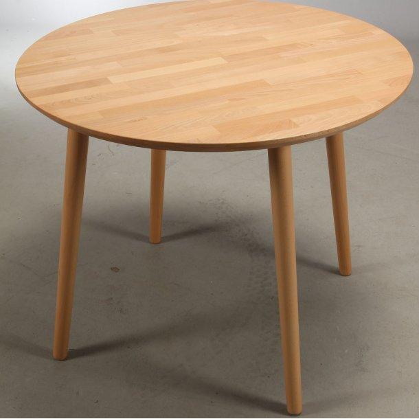 Lumber - rundt spisebord, massiv bøg