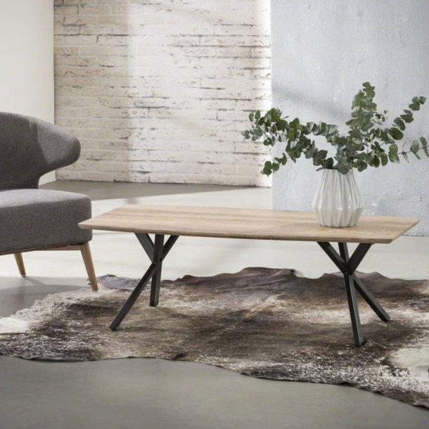 3D - sofabord antik ege look, 120 x 60 cm