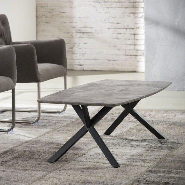 3D - sofabord beton look, 120 x 60 cm