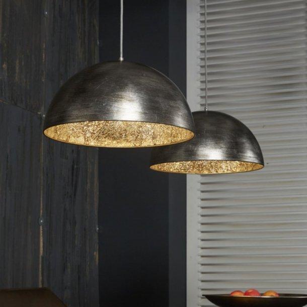 Z-7475,  loftlampe, antik sølv finish, spejl effect
