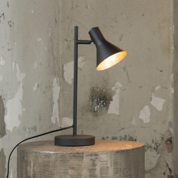 Z-8186, arkitekt bordlampe, sort med guld.