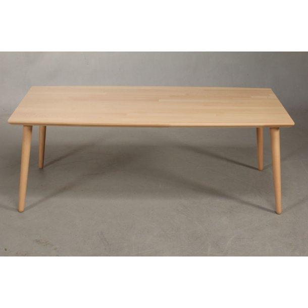Lumber - sofabord i massiv bøg, rektangulær 130 x 70 cm.