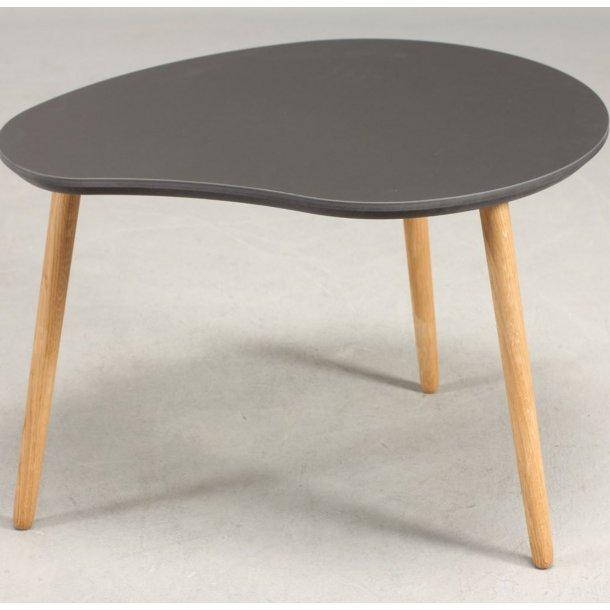 CT 30 - paletformet sofabord i linoleum, egeben, 3 størrelser.