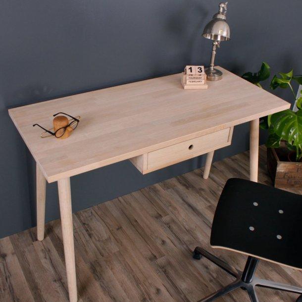 Duxx - Skrivebord med 1 træskuffe, eg