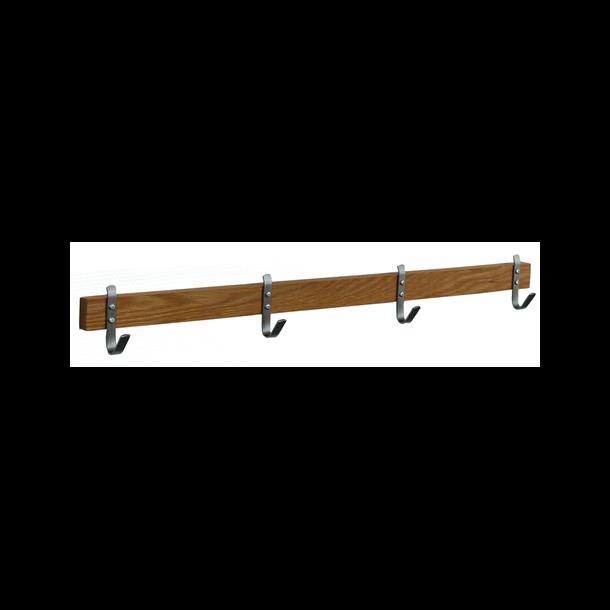 Kalmar  - knagerække med 4 kroge, 70 cm