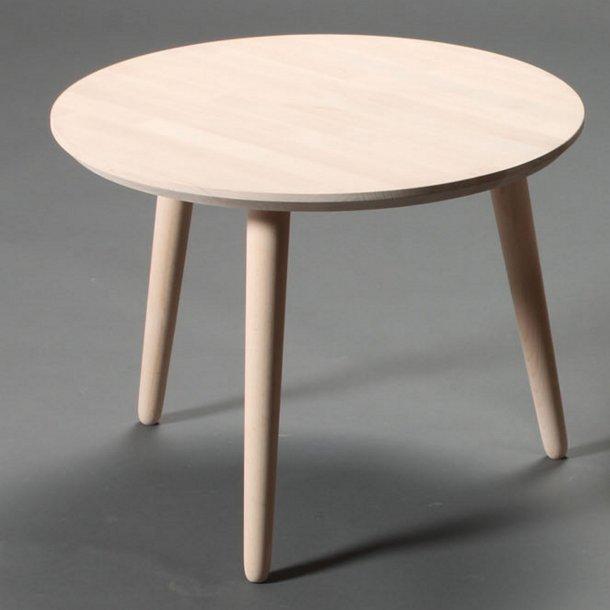 Lumber - sofabord i massiv bøg, ø 60 cm