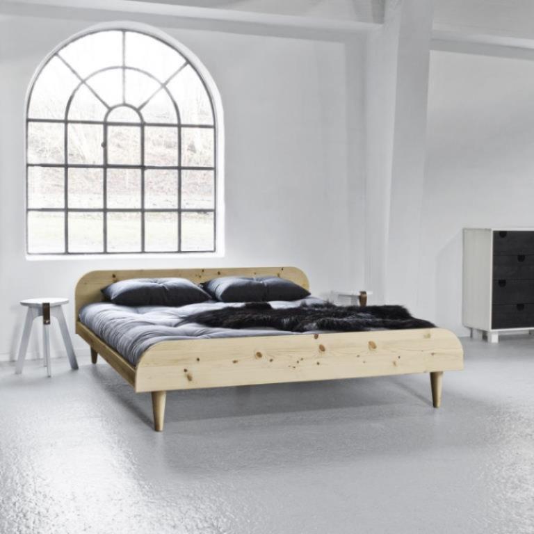 Lige ud Twist - seng i 3 størrelser, natur træ - Senge - Zity1.dk XI47