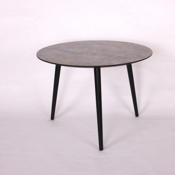 CT 20 - sofabord i lys betonlook med træben, 4 størrelser.