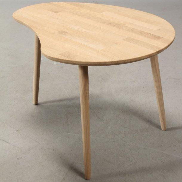 Lumber - sofabord i massiv eg,  paletform 74 x 55 cm