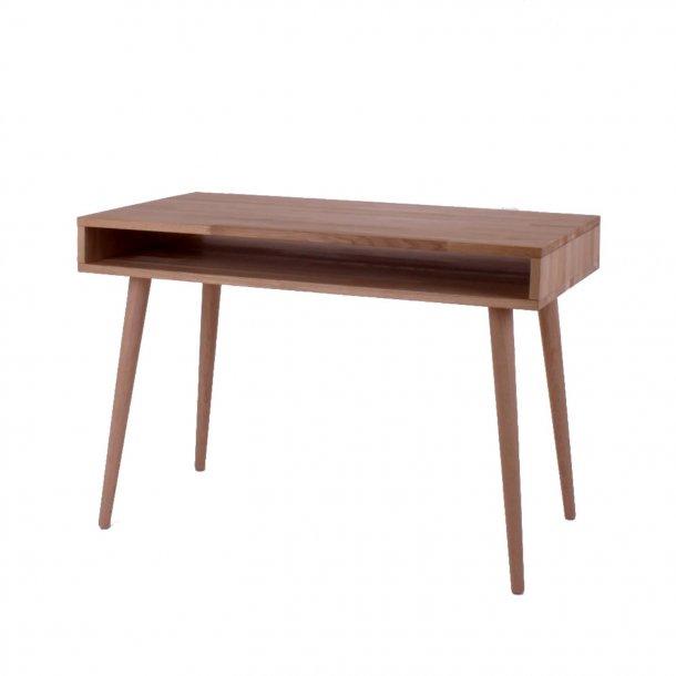 Duxx - skrivebord med 1 rum , massiv eg